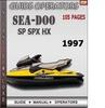 Thumbnail Seadoo SP SPX HX 1997 Operators Guide Manual Download
