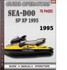 Thumbnail Seadoo SP XP 1995 Operators Guide Manual Download