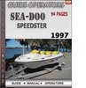 Thumbnail Seadoo Speedster 1997 Operators Guide Manual Download