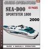 Thumbnail Seadoo Sportster 1800 2000 Operators Guide Manual Download