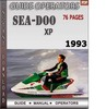 Thumbnail Seadoo XP 1993 Operators Guide Manual Download