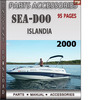 Thumbnail Seadoo Islandia 2000 Parts Accessories Catalog Manual Downlo