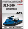 Seadoo Rotax 717 RFI 2005 Engine Service Repair Manual Downl
