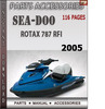 Seadoo Rotax 787 RFI 2005 Engine Service Repair Manual Downl