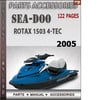 Thumbnail Seadoo Rotax 1503 4-Tec 2005 Engine Service Repair Manual Do