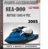 Seadoo Rotax 1503 4-Tec 2005 Engine Service Repair Manual Do
