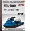 Thumbnail Seadoo Rotax 1503 4-Tec 2005 Engine Service Repair Manual Do