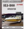 Thumbnail Seadoo Speedster 1999 Parts Accessories Catalog Manual Downl