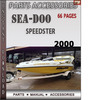 Thumbnail Seadoo Speedster 2000 Parts Accessories Catalog Manual Downl