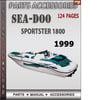 Thumbnail Seadoo Sportster 1800 1999 Parts Accessories Catalog Manual