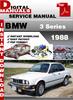 Thumbnail BMW 3 Series 1988 Factory Service Repair Manual