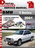Thumbnail BMW 3 Series 2001 Factory Service Repair Manual