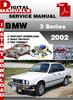 Thumbnail BMW 3 Series 2002 Factory Service Repair Manual