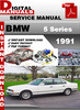 Thumbnail BMW 5 Series 1991 Factory Service Repair Manual