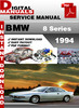 Thumbnail BMW 8 Series 1994 Factory Service Repair Manual