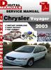 Thumbnail Chrysler Voyager 2003 Factory Service Repair Manual