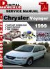 Thumbnail Chrysler Voyager 1999 Factory Service Repair Manual