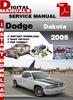 Thumbnail Dodge Dakota 2005 Factory Service Repair Manual