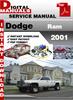 Thumbnail Dodge Ram 2001 Factory Service Repair Manual