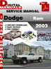 Thumbnail Dodge Ram 2003 Factory Service Repair Manual