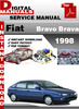 Thumbnail Fiat Bravo Brava 1998 Factory Service Repair Manual