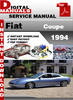 Thumbnail Fiat Coupe 1994 Factory Service Repair Manual