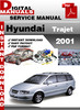 Thumbnail Hyundai Trajet 2001 Factory Service Repair Manual