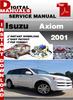 Thumbnail Isuzu Axiom 2001 Factory Service Repair Manual
