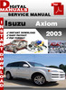Thumbnail Isuzu Axiom 2003 Factory Service Repair Manual