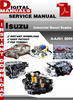 Thumbnail Isuzu Industrial Diesel Engine A-4JG1 2000 Factory Service R