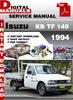 Thumbnail Isuzu KB TF 140 1994 Factory Service Repair Manual