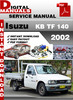 Thumbnail Isuzu KB TF 140 2002 Factory Service Repair Manual