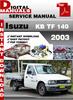 Thumbnail Isuzu KB TF 140 2003 Factory Service Repair Manual
