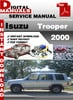 Thumbnail Isuzu Trooper 2000 Factory Service Repair Manual