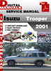 Thumbnail Isuzu Trooper 2001 Factory Service Repair Manual