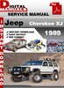 Thumbnail Jeep Cherokee XJ 1989 Factory Service Repair Manual