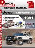 Thumbnail Jeep Cherokee XJ 1991 Factory Service Repair Manual