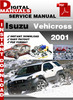 Thumbnail Isuzu Vehicross 2001 Factory Service Repair Manual