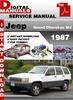 Thumbnail Jeep Grand Cherokee WJ 1987 Factory Service Repair Manual