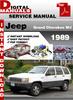 Thumbnail Jeep Grand Cherokee WJ 1989 Factory Service Repair Manual