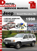 Thumbnail Jeep Grand Cherokee WJ 1998 Factory Service Repair Manual