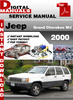Thumbnail Jeep Grand Cherokee WJ 2000 Factory Service Repair Manual