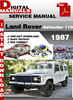 Thumbnail Land Rover Defender 110 1987 Factory Service Repair Manual