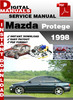 Thumbnail Mazda Protege 1998 Factory Service Repair Manual