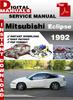 Thumbnail Mitsubishi Eclipse 1992 Factory Service Repair Manual