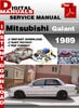 Thumbnail Mitsubishi Galant 1989 Factory Service Repair Manual