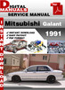 Thumbnail Mitsubishi Galant 1991 Factory Service Repair Manual