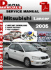 Thumbnail Mitsubishi Lancer 2005 Factory Service Repair Manual