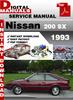 Nissan 200 SX 1993 service manual,Nissan 200 SX 1993 repair
