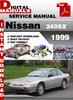 Nissan 240SX 1999 service manual,Nissan 240SX 1999 repair ma
